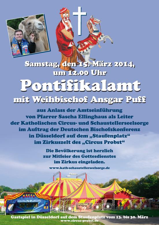 Plakat Amtseinfuehrung 15-03-2014
